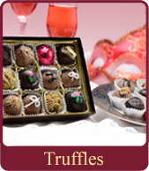 Our handmade chocolate truffles make decadent gifts for the chocoholic in your life!