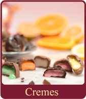 Our chocolate cremes are light and rich with an intense burst of flavor.