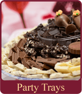 Make your party event extra special with gourmet chocolates from Dorothy's Candies.