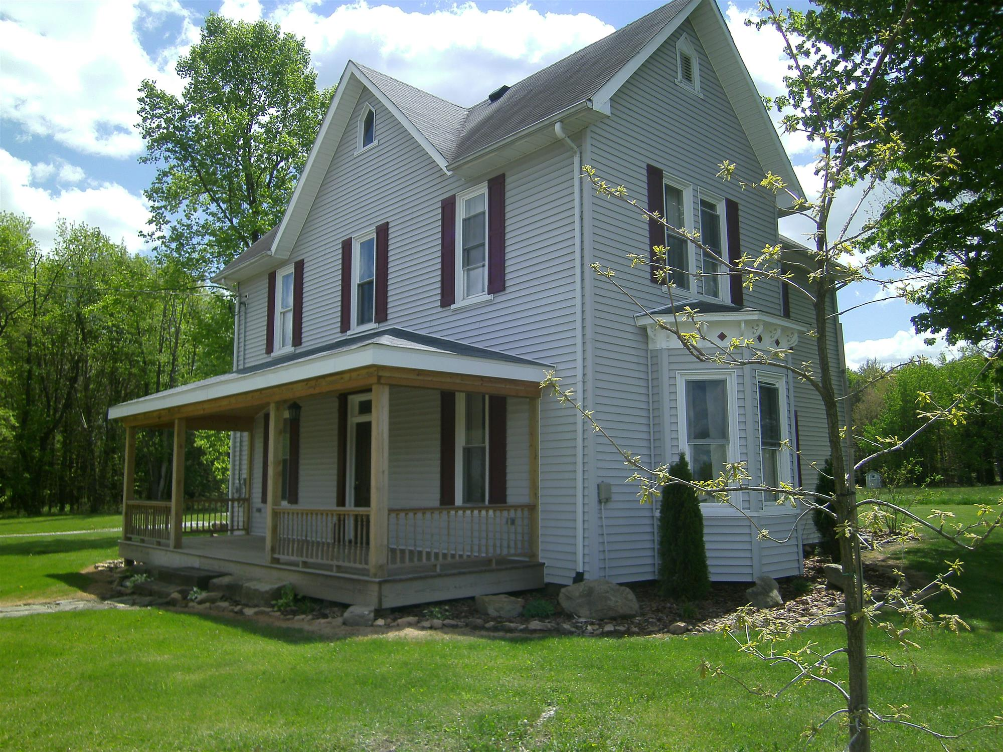SOLD! -          This is a beautifully restored Victorian farmhouse on 3 acres of land near I-80 and Foxburg in Allegheny ...