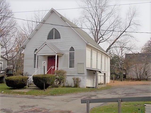 Church for Sale! Buy of the week! -      111 Hayes Avenue, Butler City  1,600 square foot church building, Zoned R-2, Full...