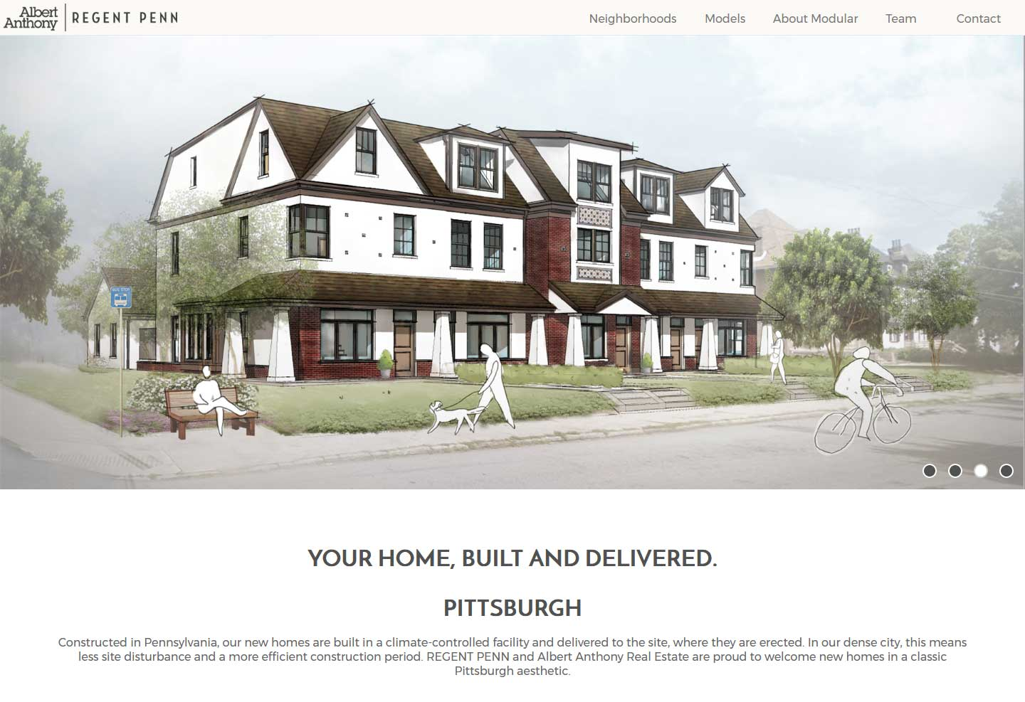 regent penn albert anthony real estate has partnered with regent penn to bring modular homes to pittsburgh this broker builder project is one of the first endeavors to