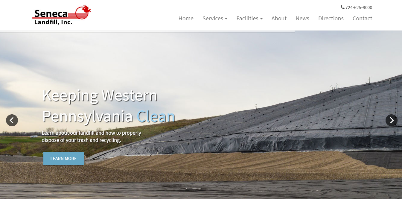 Seneca Landfill Website Launch - Seneca Landfill, located in Western PA, had no website or online presence. However, as pa...