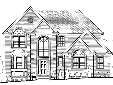 A Jefferson Hills newly constructed home.