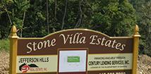New Homes Stone Villa Jefferson Hills