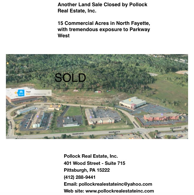 Sold 15 Acres Commercial, North Fayette -  ...
