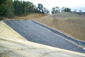 Advanced liner system at Seneca Landfill in Butler County.