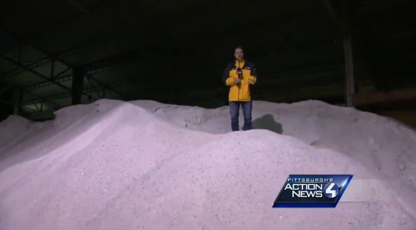Prepping for the Freeze: Crews work to remove snow, salt roads - ...