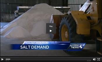 Chuck Lantzman Featured on WTAE to Discuss Rock Salt This Season - ...