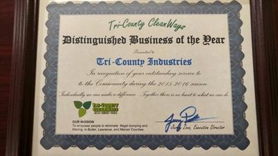 Tri-County CleanWays Award