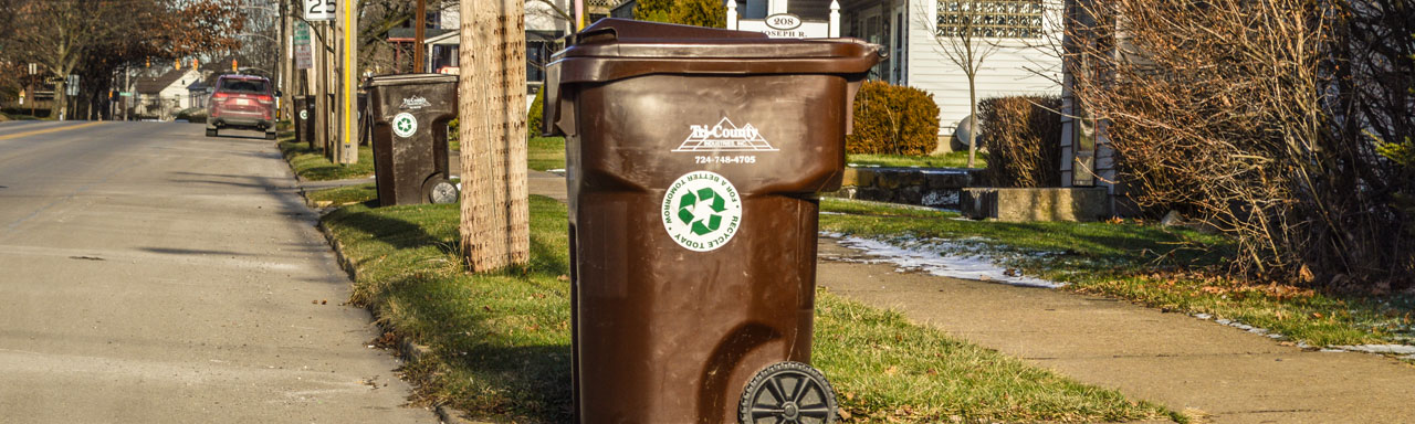 tri-county industries curbside garbage can in grove city pa