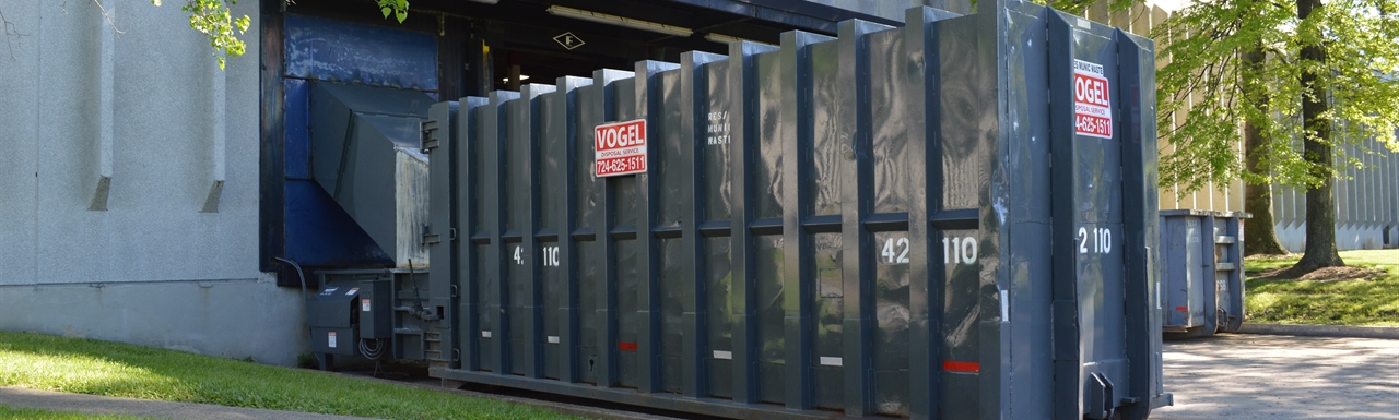 vogel disposal large volume trash compactor for businesses