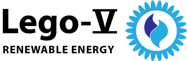 Lego-V Renewable Energy Logo | Vogel Holding Inc., PA