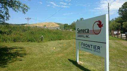 Seneca Landfill in Butler County.