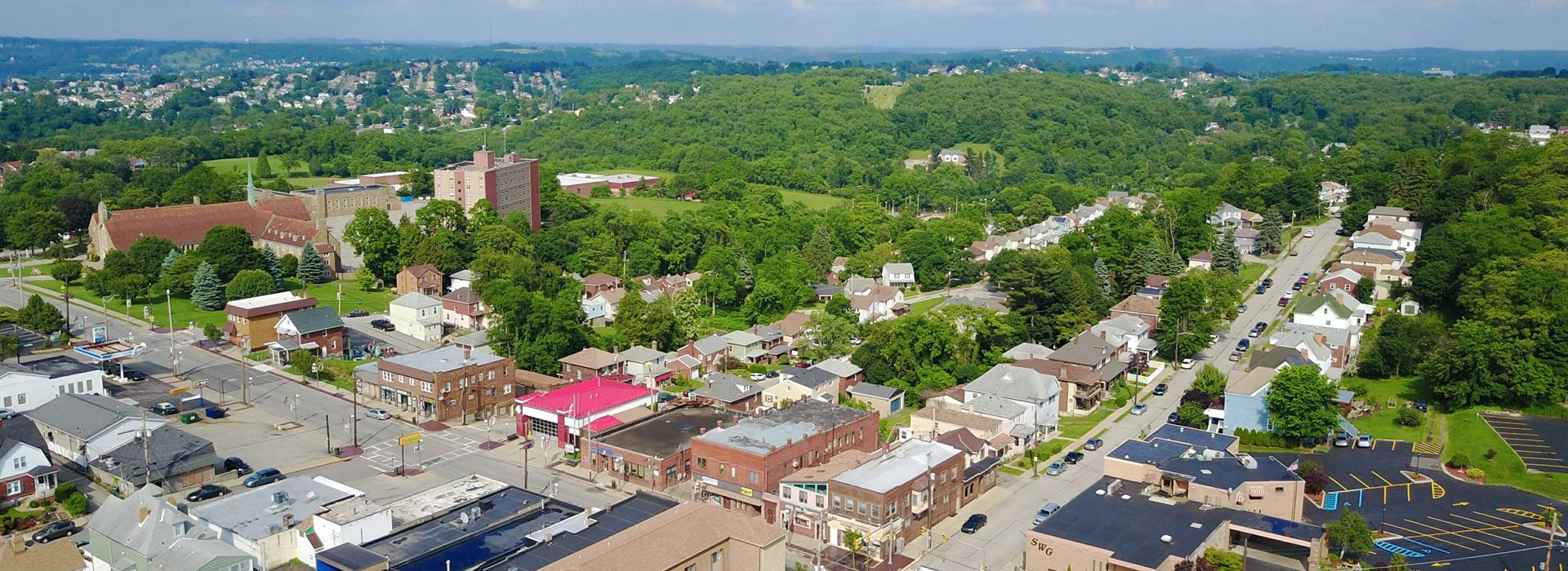 Munhall aerial photo | Jim Pigott Real Estate