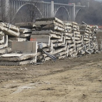 Concrete Slab Hauling