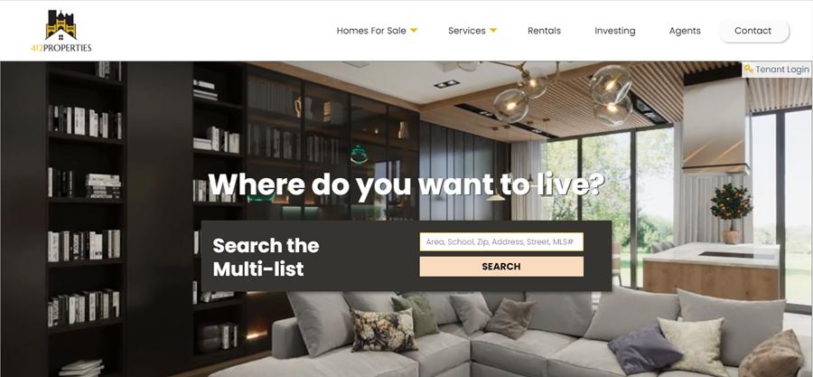 412 Properties Website