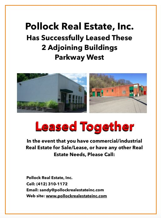 Successfully Leased Two Adjoining Buildings - We have Leased two adjoining buildings located on the parkway west. www.sanf...