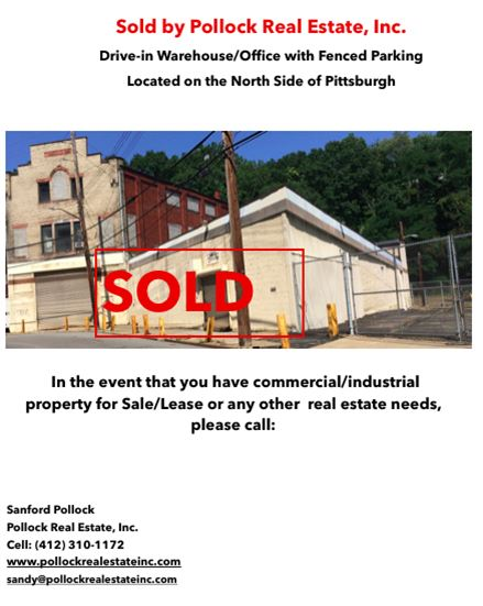 Sold Closed North Side Warehouse -  ...
