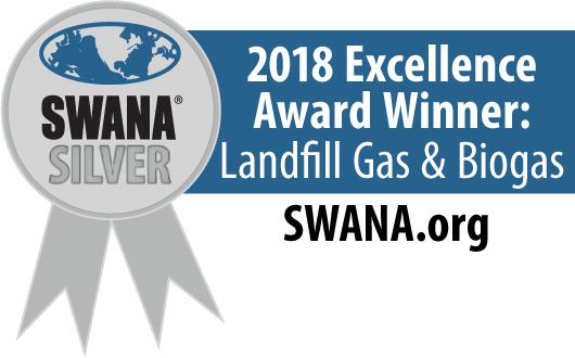 SWANA Excellence Award Winner