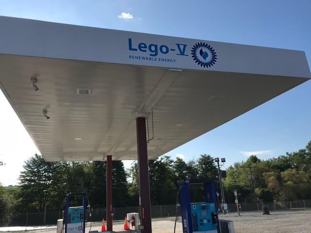lego-v cng station at seneca landfill