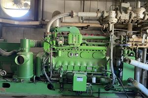 Jenbacher engine and generator at Seneca Landfill.