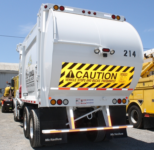 tri county industries garbage collection truck