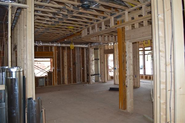 Interior of new North Hills bank | SSB Bank, Pittsburgh local bank