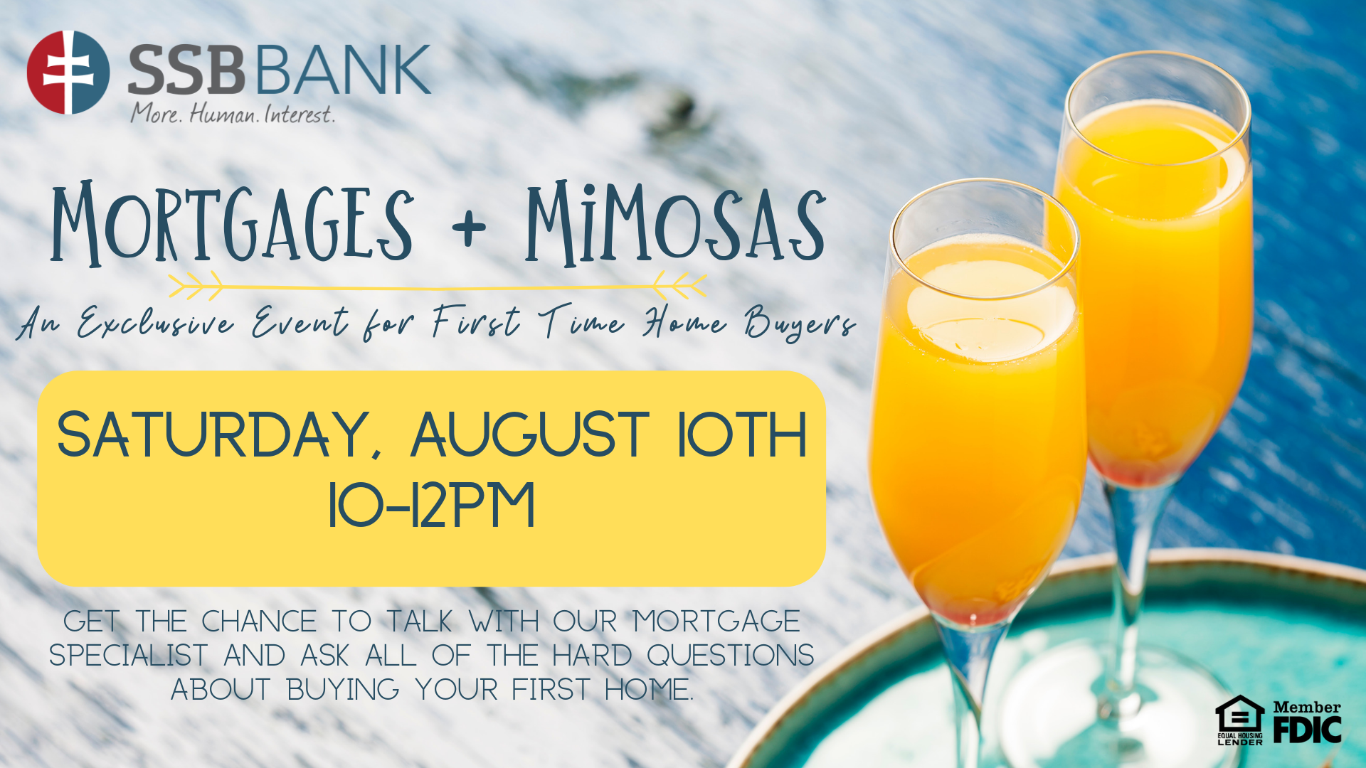 mortgages and mimosas event at ssb bank pittsburgh