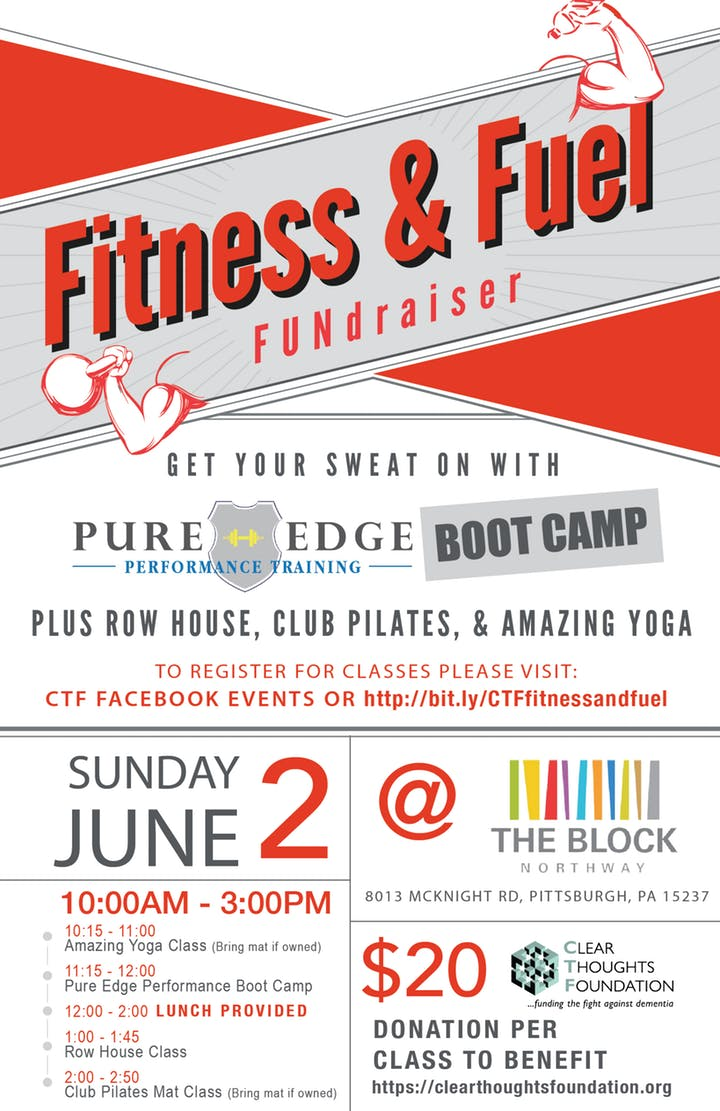 fitness and fuel fundraiser sponsored by ssb bank