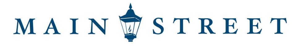 main street check company logo | new check provider for ssb bank