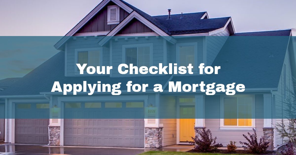 checklist to apply for mortgage in pittsburgh