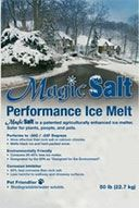 Magic Salt is an environmentally-friendly snow and ice melt solution that will save you money and time!