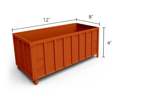 10' Roll-Off Dumpster