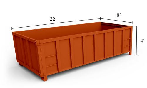 20' Roll-Off Dumpster