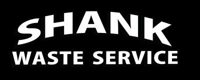 Shank Waste Service company logo.