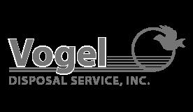 Vogel Disposal Service company logo.